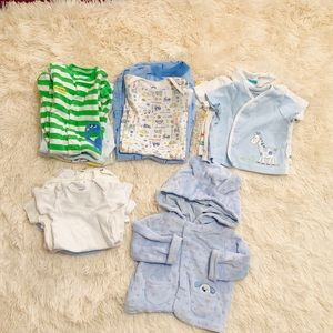 🌸bundle of 14 pieces little boys size 0-9months🌸